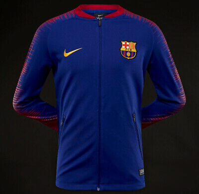 Nike Youth Barcelona Fac Anthem Football Jacket (Blue) - Age 14 - New ~ 894412