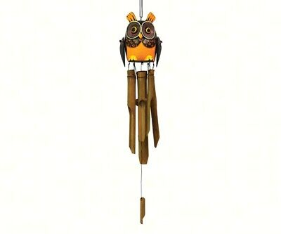 Bamboo Wind Chime Dragonfly Trio Bamboo Chime Hand Carved Se3361031 41 95 Picclick