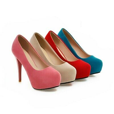 Details about  /Elegant Women Ladies Pointy Toe Stilettos Ankle Boots High Heel Outdoor Party D