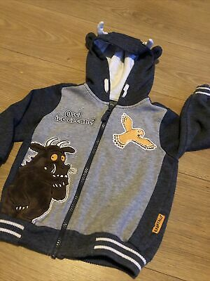 12-18 Months The Gruffalo And Child Cream Fleece Hoodie