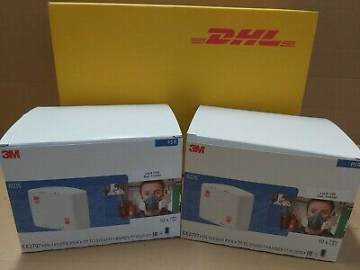 3M 6035 Filter, 20 pairs factory  sealed expiry up to 2030, Genuine Free DHL