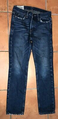 Abercrombie and Fitch Girls Slim Fit Blue Jeans age 14
