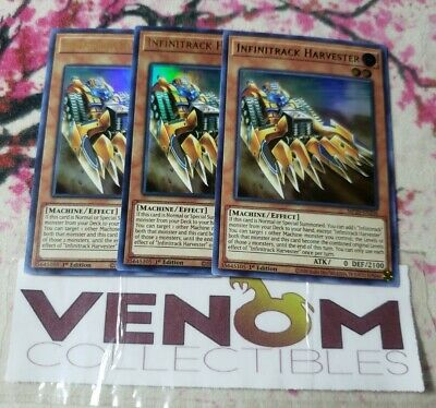 1st Edition MP15-EN100 3x Feast of the Wild LV5 Common