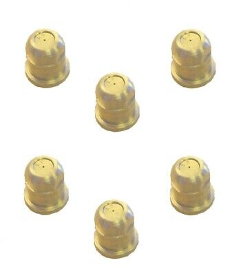 VisiFlo Pack of 12 TeeJet TX-VS6 ConeJet Hollow Cone Spray Nozzle Red