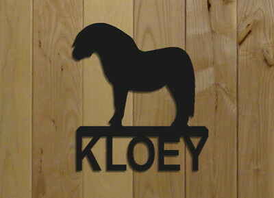 Mini Horse Stall Sign