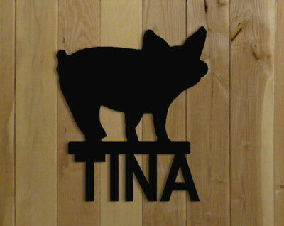 Baby Pig Stall Sign