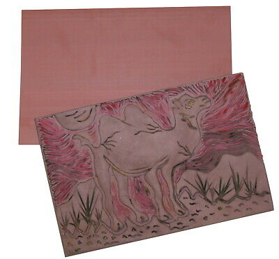Inovart Non-Toxic Eco Printing Plates, 4 x 6 Inches, Pack of 2