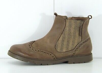 Boys Chelsea Boots Tan Leather 30/% OFF RRP Start-rite Digby