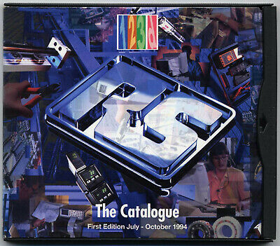 Radiospares RS Catalogue First CD-ROM edition 1994 vintage software