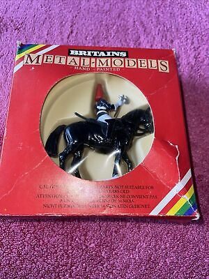 Britains Metal Models 7244 Blues And Royals Farrier Mounted