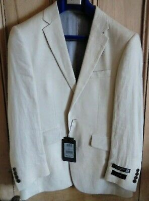 Men S New Austin Reed Pure Linen Jacket 25 00 Picclick Uk