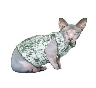 adult L VEST, clothes for a Sphynx, cat clothes, HOTSPHYNX, cat jumper, Sphynx