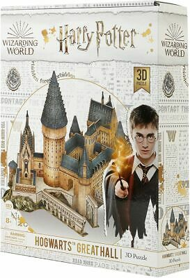 Harry Potter Hogwarts - Great Hall (3D Puzzle) Unisex Puzzle standard, Plastica,