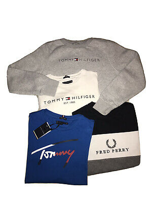 Boys Designer Bundle Age 11-12 Years Fred Perry / Tommy Hilfiger