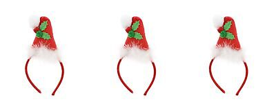 Zac's Alter Ego® Pack of 3 Christmas Headbands/ Head Boppers