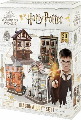 Harry Potter Diagon Alley (3D Puzzle) Unisex Puzzle standard, Plastica,