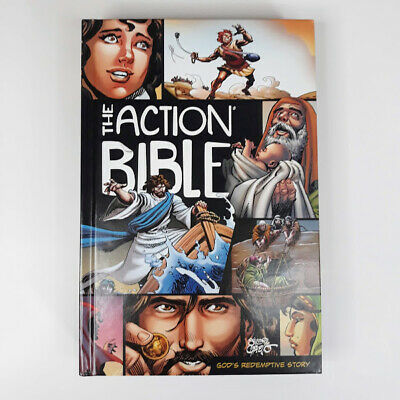The Action Bible Gods Redemptive Story Action Bible Series Hardcover Illustrated