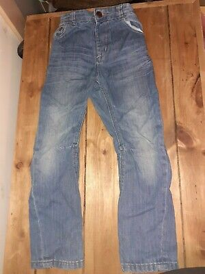George Boys Pair Of Blue Denim Jeans - Age 4-5 Years - Good Condition