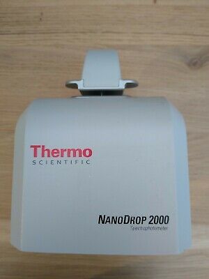 Thermo Nanodrop 2000 complete with cables, software (USB) and User Manuel