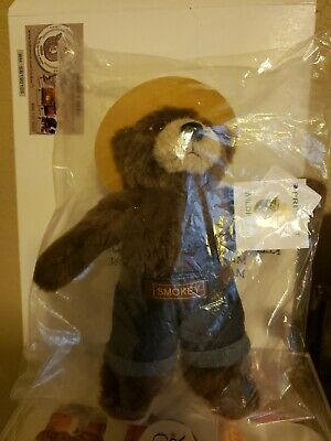 Smokey Bear. Soft and mint in sack.Gift giveable. EIGHT INCHES..