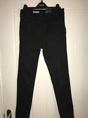 Boys Black Denim Jeans Age 11 From Next