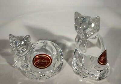 Gorham Cat Salt And Pepper Shakers Set - Made In Germany