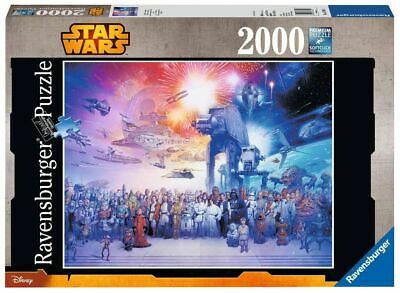 Star Wars Universe - 2000 Pieces Unisex Puzzle multicolore, Plastica,