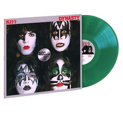 KISS: Dynasty 40th Anniversary 180g Green Vinyl Limited Edition - NEW