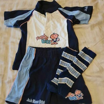 Rugby Tots full strip kit. 2-3 years. Excellent Condition.