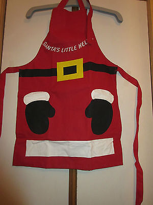 BN Santa's Little Helper Apron