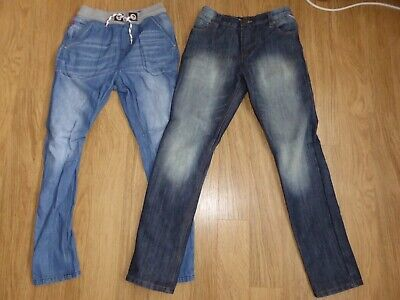 2 Pairs Of Boys Next Regular Fit Jeans To Fit Age 12