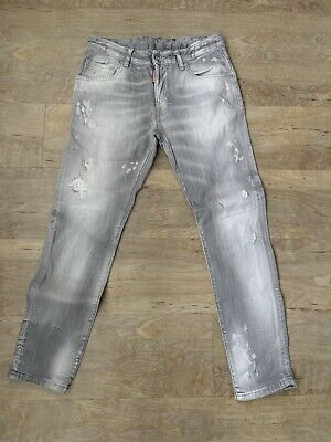 Boys Dsquared Grey Jeans Age 16