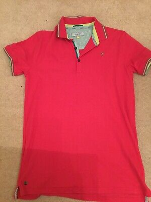 Boys Ted Baker Polo Shirt Age 13 to 14 Years