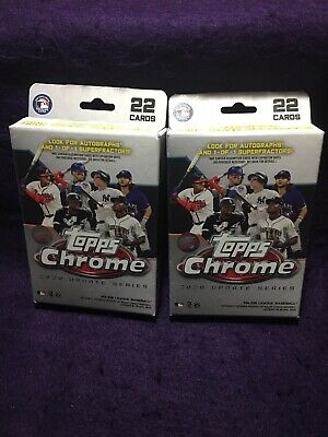 One (1) 2020 Topps Chrome Baseball UPDATE SERIES Hanger Box Sealed FREE SHIPPING