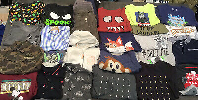 Boys Clothing Job Lot Bundle High St Brands Size 5-6 Years 27 Items