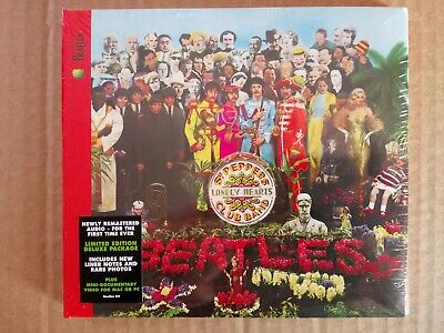 The Beatles Sgt.Pepper's Lonely Hearts Club Band CD 2009 remastered New & Sealed