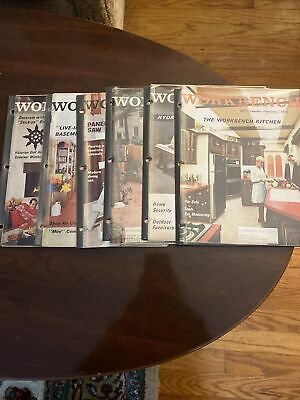 Workbench Magazine 1970 all 6 from that year! January-December Collection