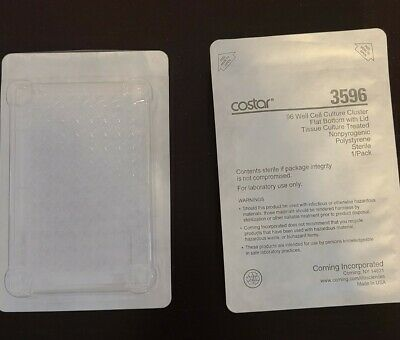 Corning Costar 3596 96 Well Cell Culture Cluster with Lid, lot of 27 plates
