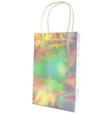 Girls Rule Iridescent Paper Party Bags - Pack of 6