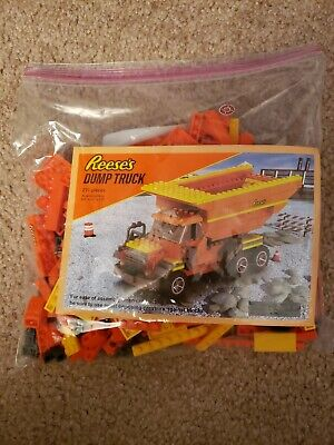 Reese's Unbranded Lego 271 Piece Dump Truck Set Hershey PA  Age 5+  AS IS