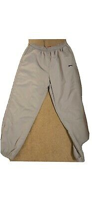 mens joggers size 2XL, sweat, zipped side pockets elastic waist grey.