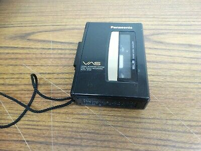 "PANASONIC RQ-L315 Handheld Cassette Voice Activated Recorder  VAS ""needs Repair"""