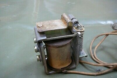 Vintage Ex Forces 24V Dc Contactor 24V Relay Ex Army Vehicle Spares