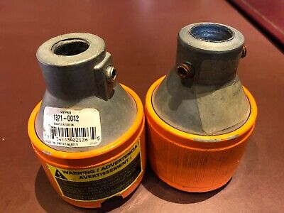 (2 ) Multi-Speed 1321-0012 5/8 x 1-3/8 PTO Quick Couplers. One new, one used.