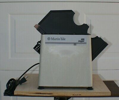 Martin Yale Jogger 400 Working Condition Paper Tabletop Jog-O-Matic Stack