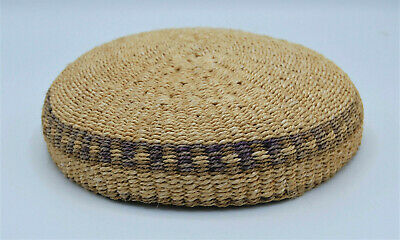 Antique Native American Hat Womens Natural Materials Polychrome DB50