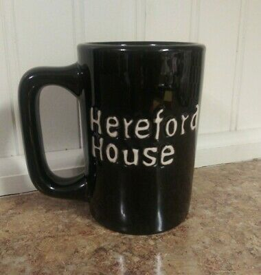 Black Hereford House Mug By Tuxton