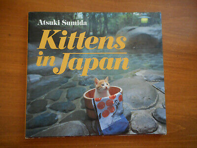 KITTENS IN JAPAN - kitty cats - adorable - Cat Collectible - Great gift