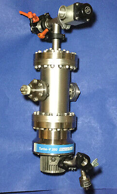 VARIAN TURBO V-250 MACROTORR Turbo Pump + More