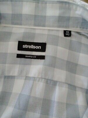 "Strellson Mans Shirt Size 42"" 16and A Half Collar"